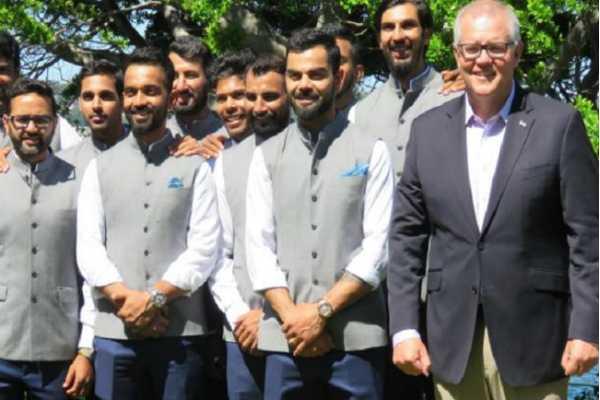 australian-prime-minister-scott-morrison-hosted-virat-kohli-and-tim-paine-s-men