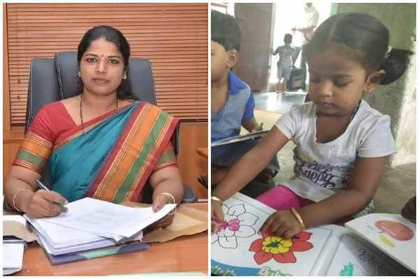 tirunelveli-collector-joins-her-daughter-into-government-anganwadi