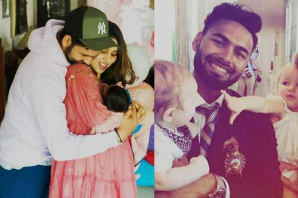rohit-sharma-asks-rishabh-pant-to-babysit-his-daughter