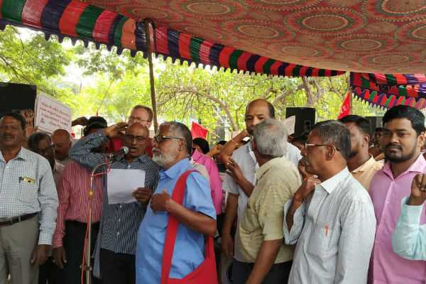 indian-bank-employees-protest-in-chennai