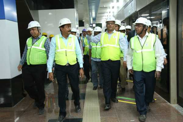 inspection-in-chennai-central-dms-metro-route