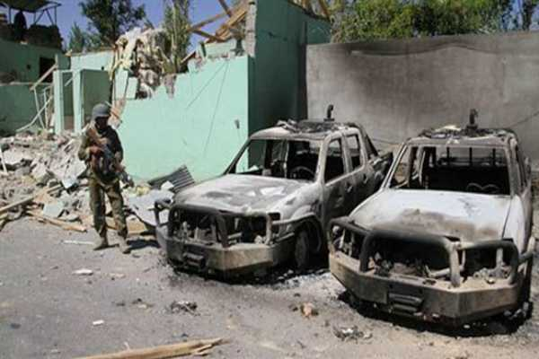 12-security-officers-dead-after-taliban-attacks-afghan-military-base