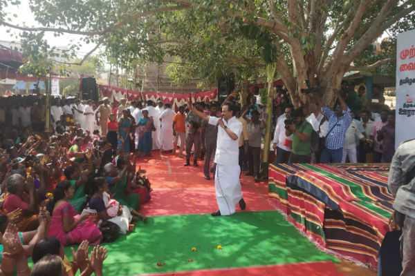 dmk-panchayat-council-meeting-more-than-500-participants