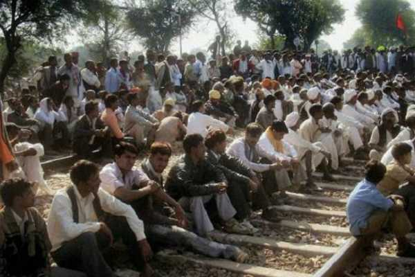 gujjars-quota-agitation-protesters-block-tracks