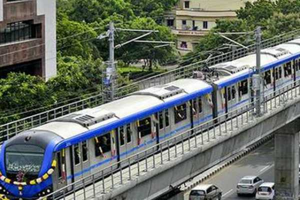 two-lakh-people-travelled-in-chennai-metro-rails-on-monday