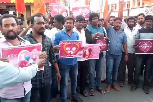 hindu-organisation-against-to-valentines-day-55-arrested
