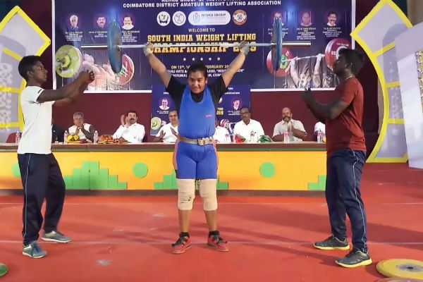 south-india-weight-lifting-championship