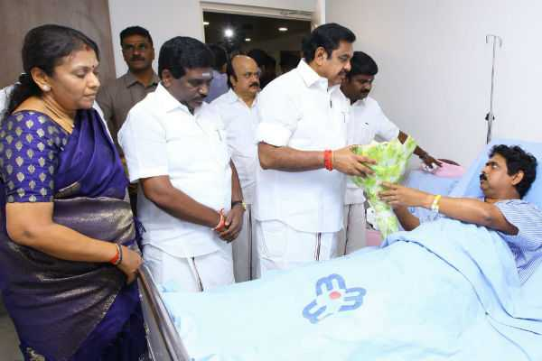 chief-minister-meet-to-m-l-a-alexander-in-hospital