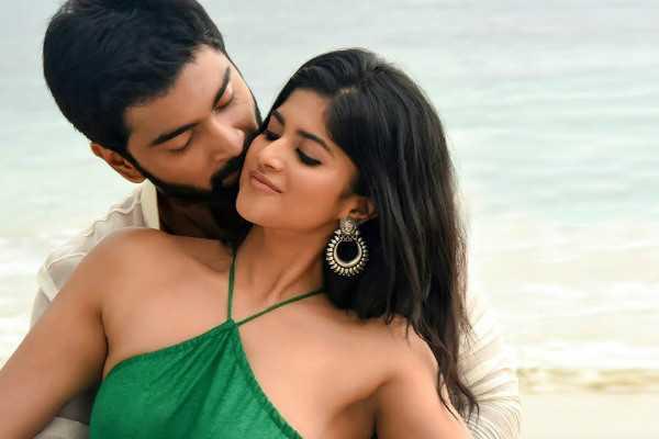 dhanush-releases-atharva-megha-akash-romantic-song