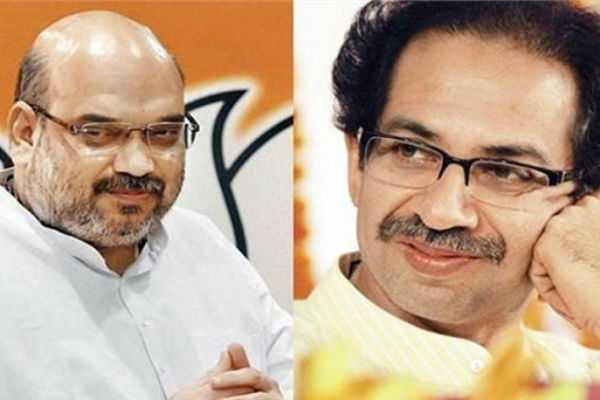 bjp-shivsena-alliance-bjp-president-amit-shah-to-meet-shiv-sena-chief-uddhav-thackeray-today