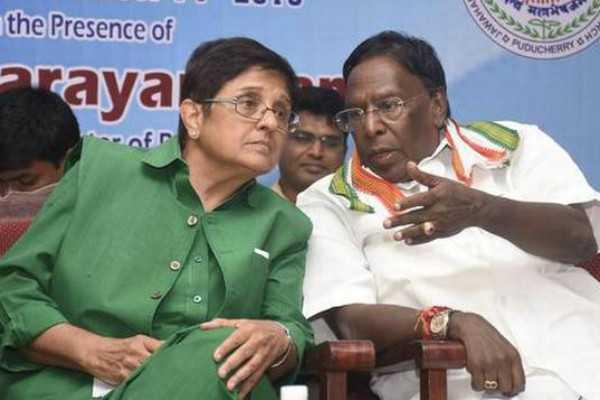 narayanasamy-ends-protest-after-kiran-bedi-meet
