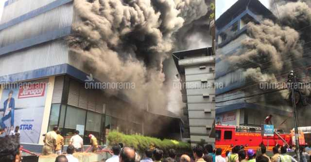 major-fire-breaks-out-at-footwear-godown-in-kochi