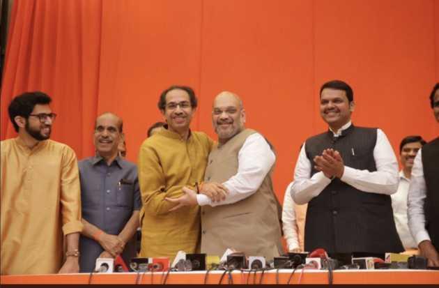 sivasena-dares-bjp-to-break-alliance-if-cm-post-was-not-shared