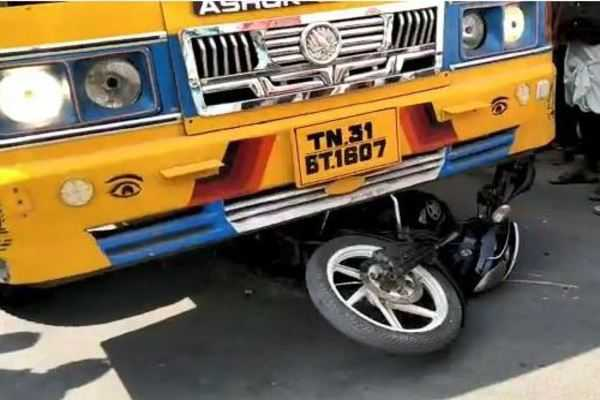 lorry-bike-accident-young-boys-escaped