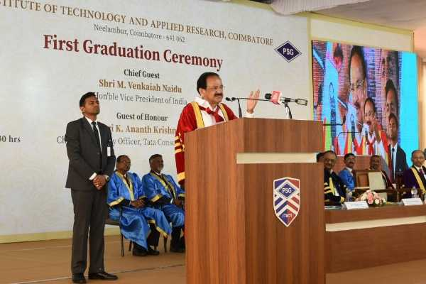 vp-venkaiah-naidu-addresses-students-in-psg-college