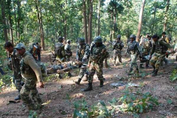 two-naxals-killed-in-an-encounter-in-andhra