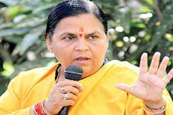 uma-bharti-told-mayawati-to-call-her-for-emergency-case