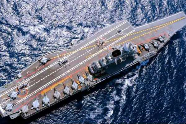 indian-navy-india-deployed-the-aircraft-carrier-ins-vikramaditya-along-with-fighter-aircraft-in-the-northern-arabian-sea