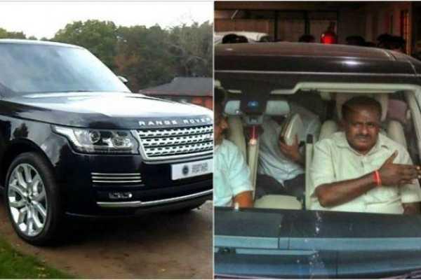karnataka-cm-kumaraswamy-s-personal-car-booked-for-traffic-violations