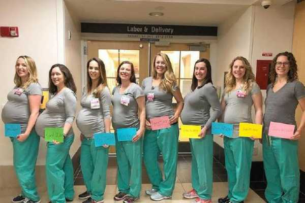 nine-delivery-nurses-at-a-us-hospital-are-all-pregnant-at-the-same-time