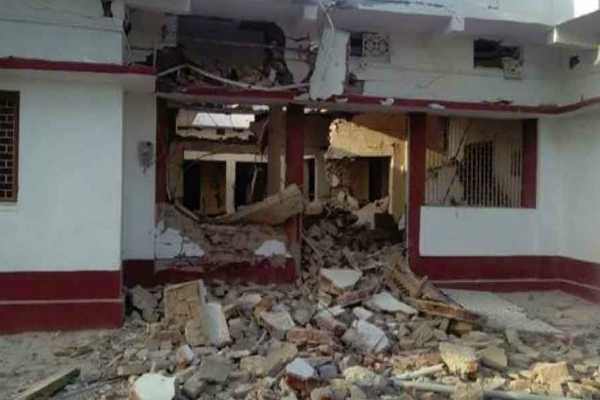 naxals-blow-up-bjp-leader-anuj-kumar-s-house-in-bihar