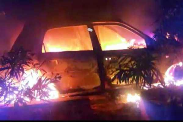 5-burnt-alive-as-car-catches-fire-after-collision-in-up