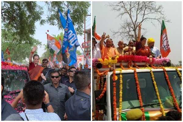 smriti-irani-sonia-gandhi-to-file-nominations-shortly-after-mega-rallies