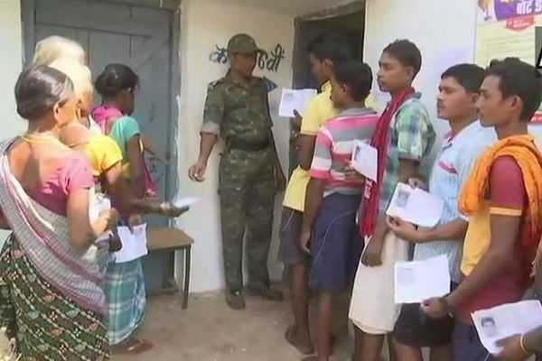 voters-turn-up-in-large-numbers-in-chhattisgarh-s-dantewada-despite-bjp-mla-s-killing-in-maoist-attack