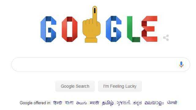 google-doodle-show-how-to-vote-india-elections-2019