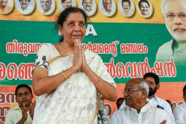 nirmala-sitharaman-urges-wayanad-voters-to-choose-bjp-ally-bdjs-s-tushar-vellappally