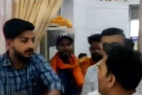 bjp-workers-thrashed-an-ncp-worker-at-sdm-office