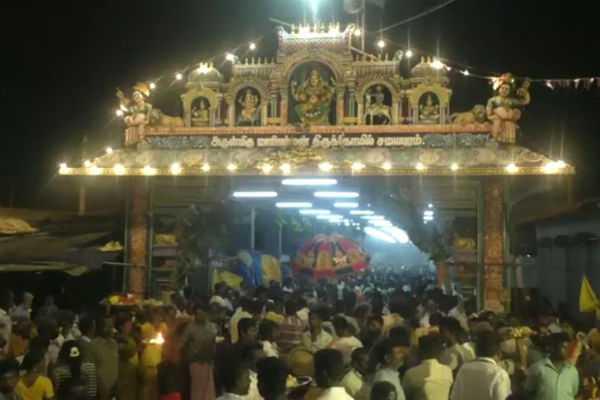 rs-2-crore-donation-to-samayapuram-mariamman-temple