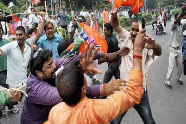major-clashes-between-tmc-and-bjp-workers-in-wb
