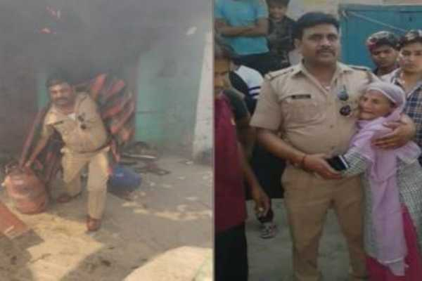 noida-cop-enters-house-on-fire-to-take-out-lpg-cylinders