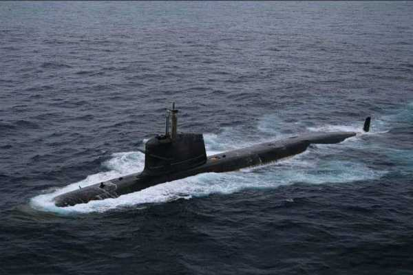 scorpene-class-submarine-ins-vela-to-be-launched-for-trials-today