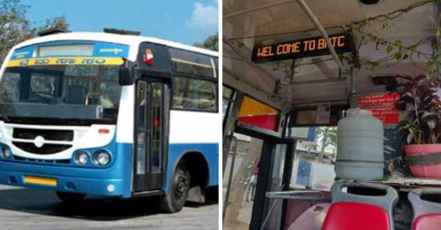 bengaluru-bus-driver-maintains-mini-garden-in-his-bus