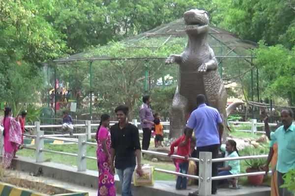 tourists-accumulating-in-kurumbapatti-forest-zoo
