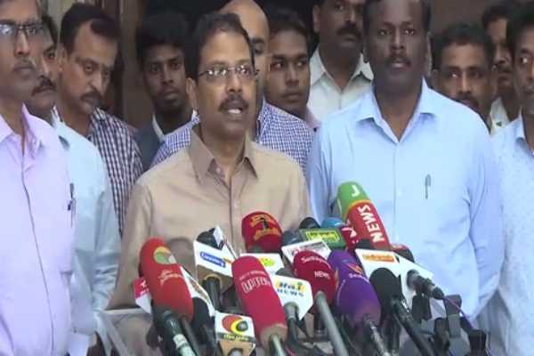 aiadmk-and-dmk-parties-have-filed-a-complaint-satyabrata-sahoo