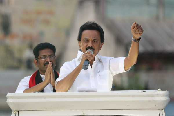 dmk-gives-petition-to-chief-election-officer