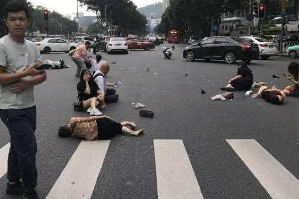 13-injured-after-car-hits-pedestrians-in-china