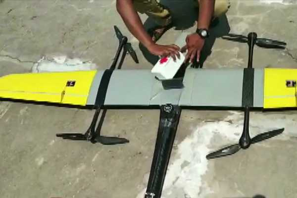 drone-used-to-transport-blood-from-remote-health-centre-in-uttarakhand-to-tehri-hospital