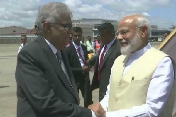 prime-minister-narendra-modi-arrived-in-sri-lanka