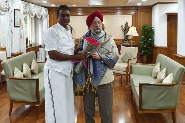 minister-sp-velumani-meet-union-minister-narendra-singh-tomar
