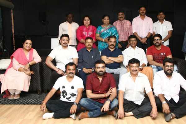 bhagyaraj-team-met-kamal