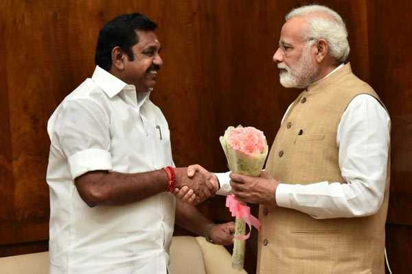 cm-edappadi-palanisamy-meets-pm-modi-at-delhi