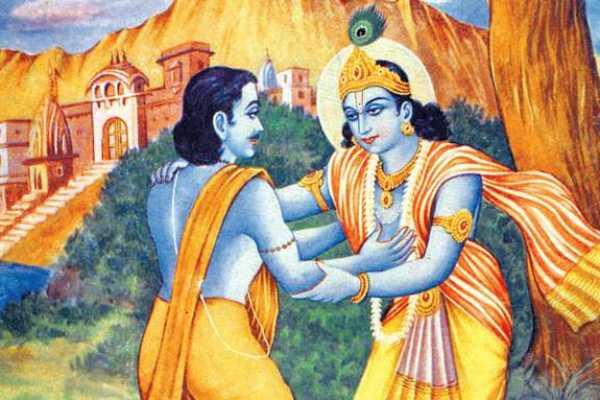 lord-krishna-and-kuselan