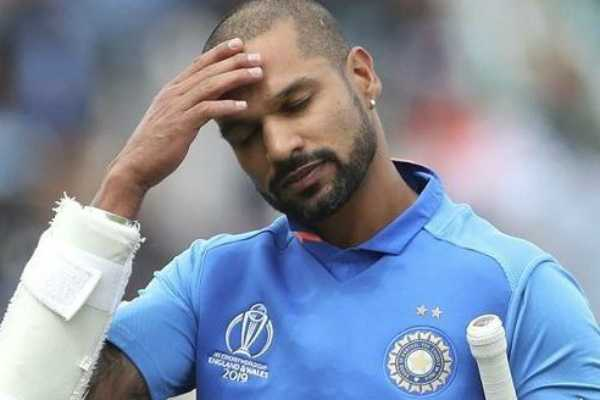worldcupcricket-shikhar-dhawan-ruled-out-rishabh-pant-comes-in-as-replacement