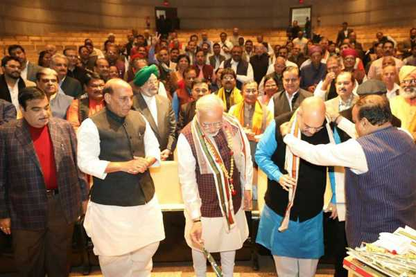 first-meeting-of-bjp-parliamentary-party-commences