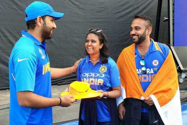 rohit-sharma-presents-autographed-hat-to-fan-who-got-hit-by-his-six-at-edgbaston