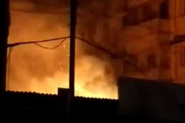 trichy-a-house-fire-in-the-middle-of-a-residential-area